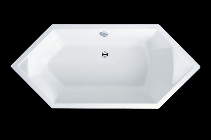 Aria Diamond Shaped Tub from Ademsez